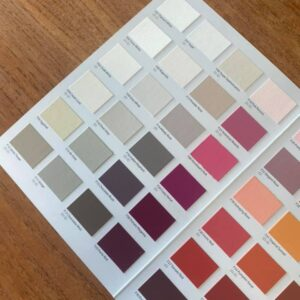 Fleur Real Paint Chip Colour Chart